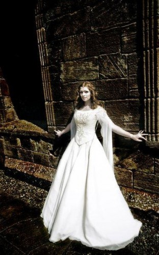 Abiti da sposa in stile celtico