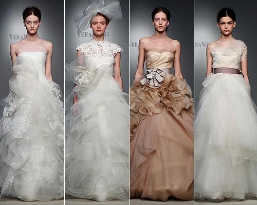 New York Bridal Week 2012, Vera Wang abiti da sposa